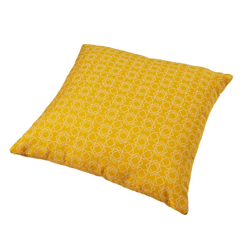 Parker Boyd – Bells Yellow Outdoor Cushion