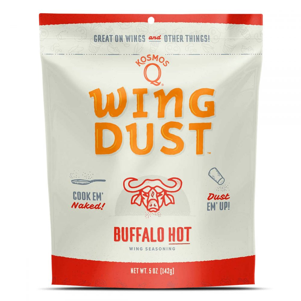 Kosmos Q - Buffalo Hot - Wing Dust - 142g