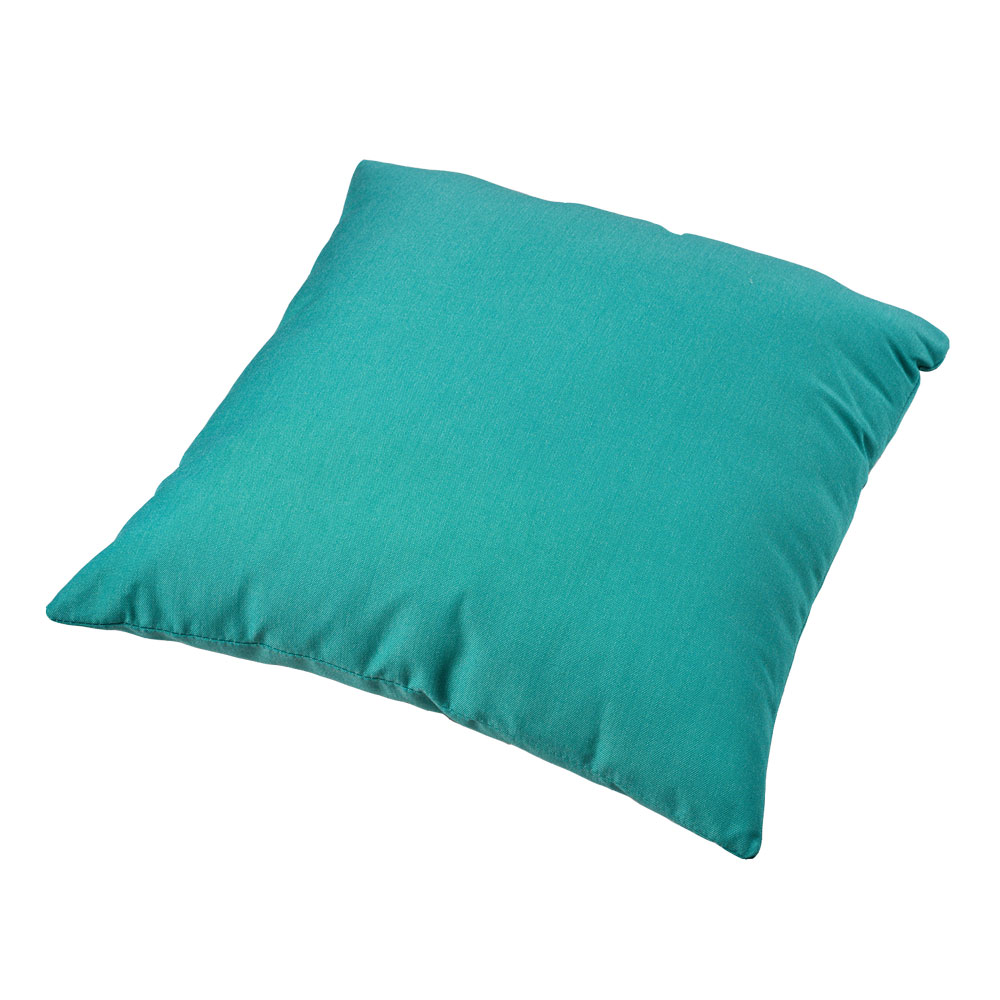 Parker Boyd – Canvas Teal Outdoor Cushion – 50x50cm