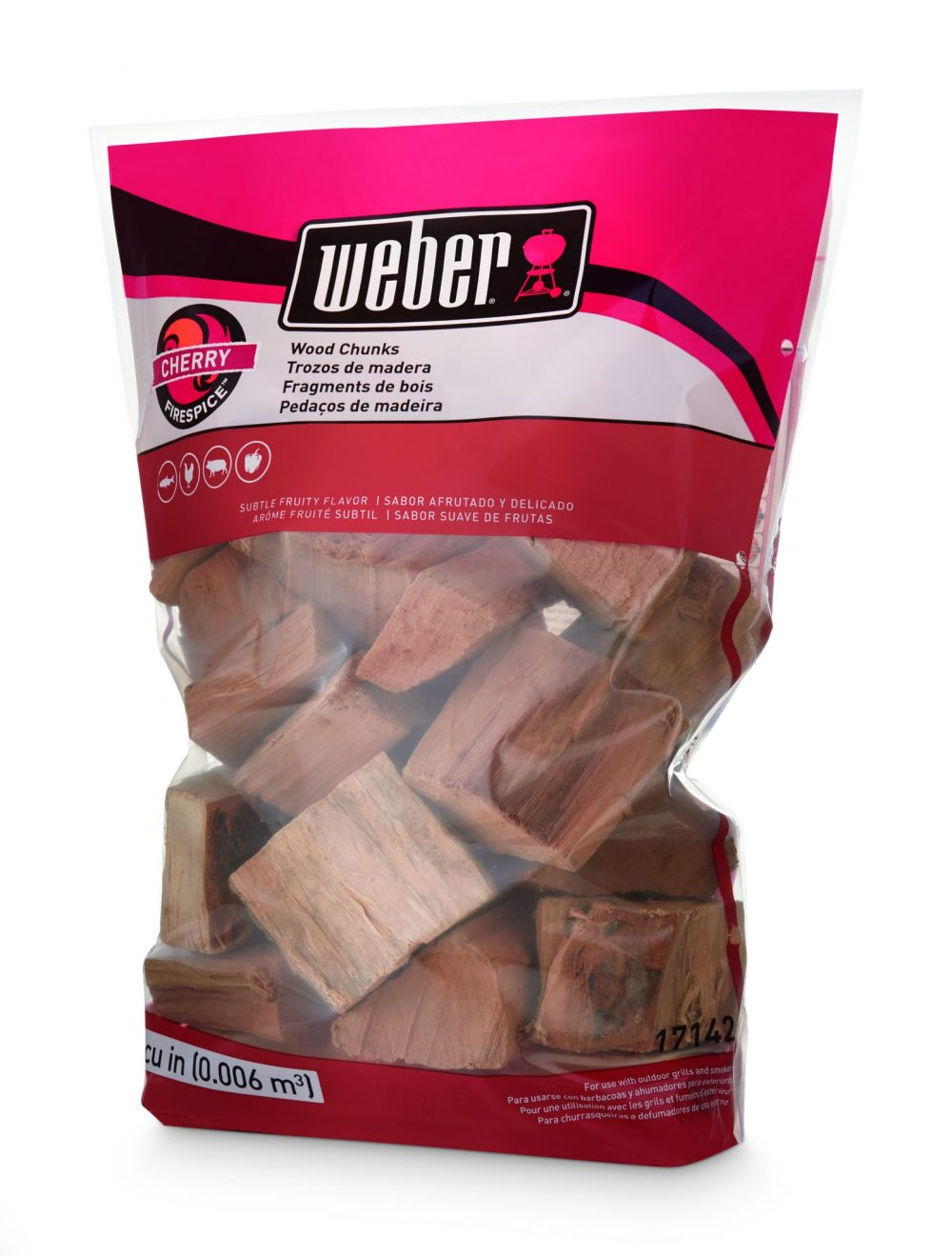 Weber® Firespice Smoking Wood Chunks - Cherry - 1.8 kg