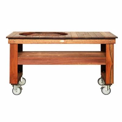 Primo Spotted Gum Countertop Table for Primo Oval XL