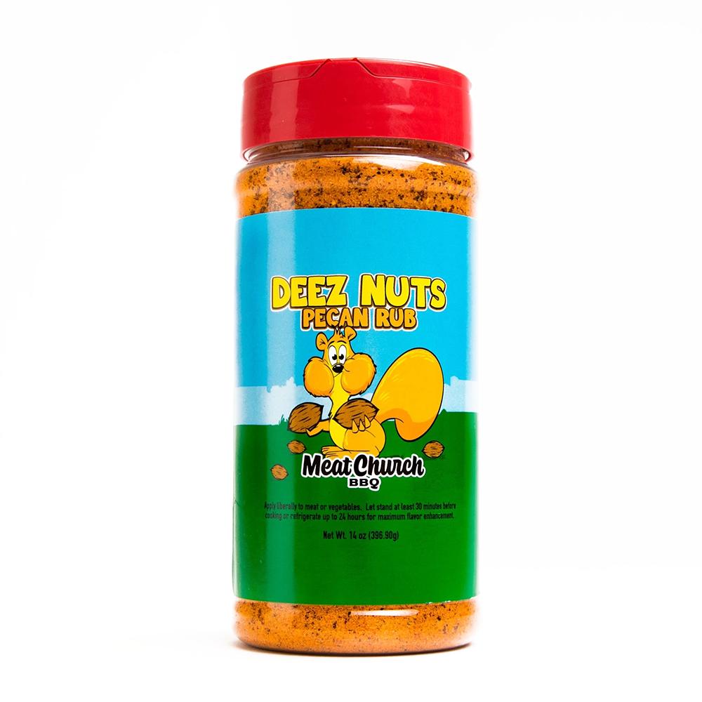 Deez Nuts Honey Pecan BBQ Rub 14oz