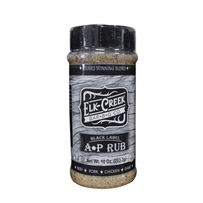 Elk Creek Black Label All Purpose Rub