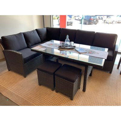 Faro Lounge 5 pcs Dining Setting