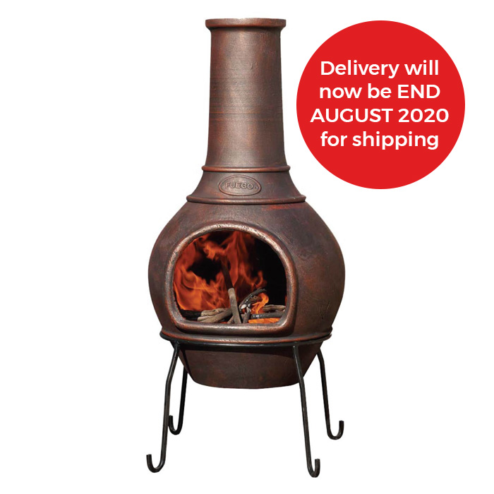 Fuego Cast Iron Chiminea