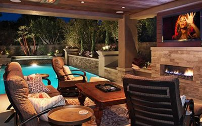 Outdoor Fireplace vs Fire Pit vs Electric Heater