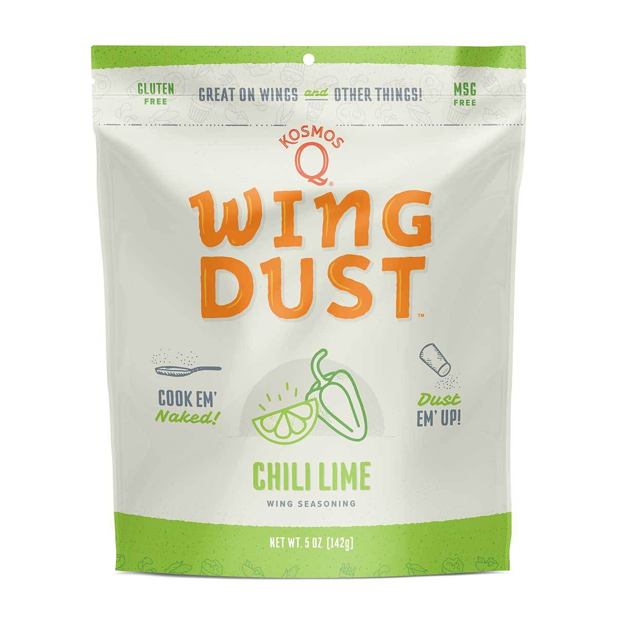 Kosmos Q – Chilli Lime – Wing Dust – 142G