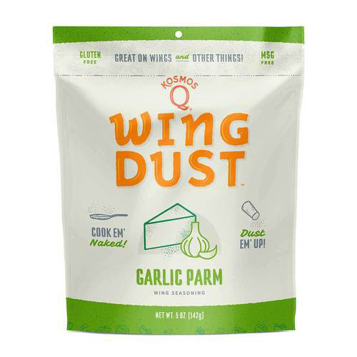 Kosmos Q – Garlic Parm – Wing Dust – 142G