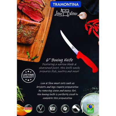 """Tramontina Low & Slow 6"""" Boning Knife"""