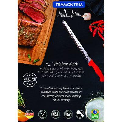 "Tramontina Low & Slow 12"" Brisket Slicer"