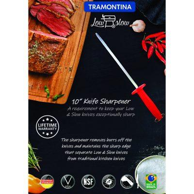 """Tramontina Low & Slow 10"""" Knife Sharpener"""