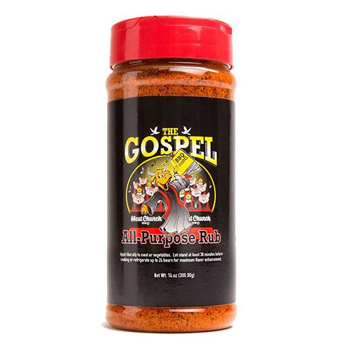 Meat Church – The Gospel All Purpose – BBQ Rub – 396.9G