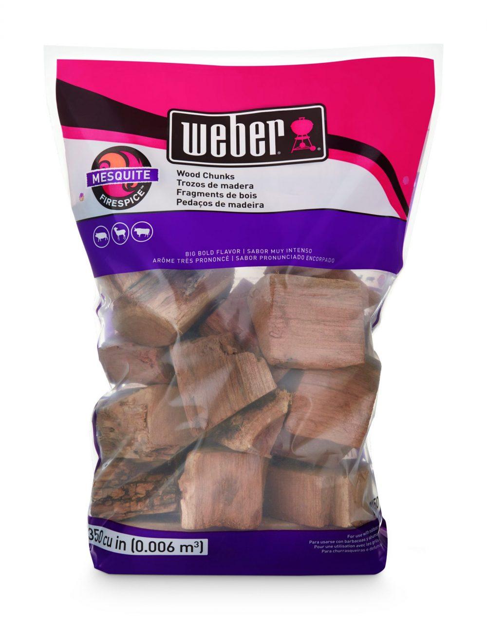 Weber® Firespice Smoking Wood Chunks - Mesquite- 1.8 kg