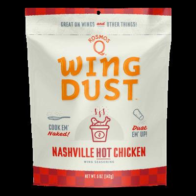 Kosmos Q Nashville Hot Chicken - Wing Dust - 142g Bag