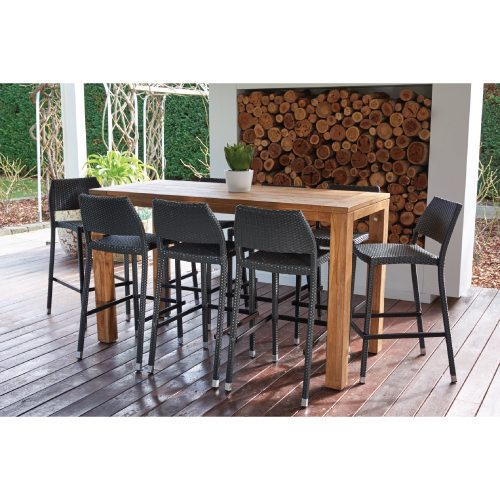 Parker Boyd – Bairo 9 Piece Bar Setting with Stools