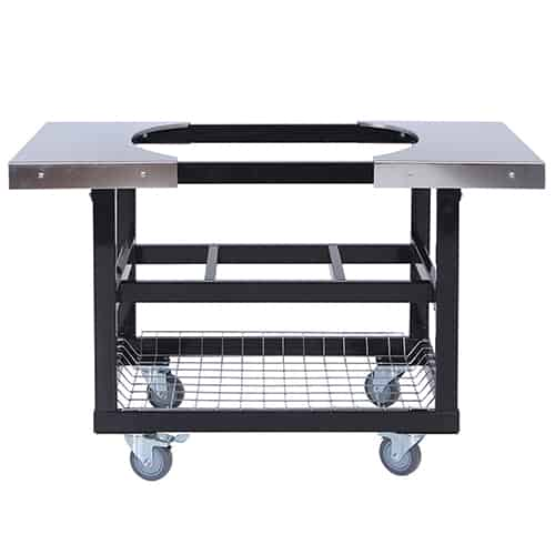 Primo Stainless Steel Cart for XL or Large Primo Oval Grills