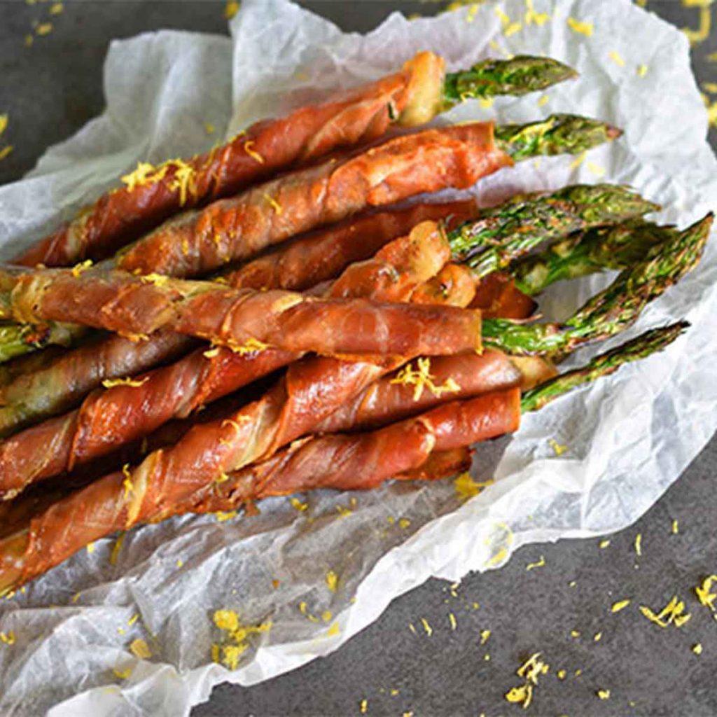 Prosciutto-wrapped-asparagus