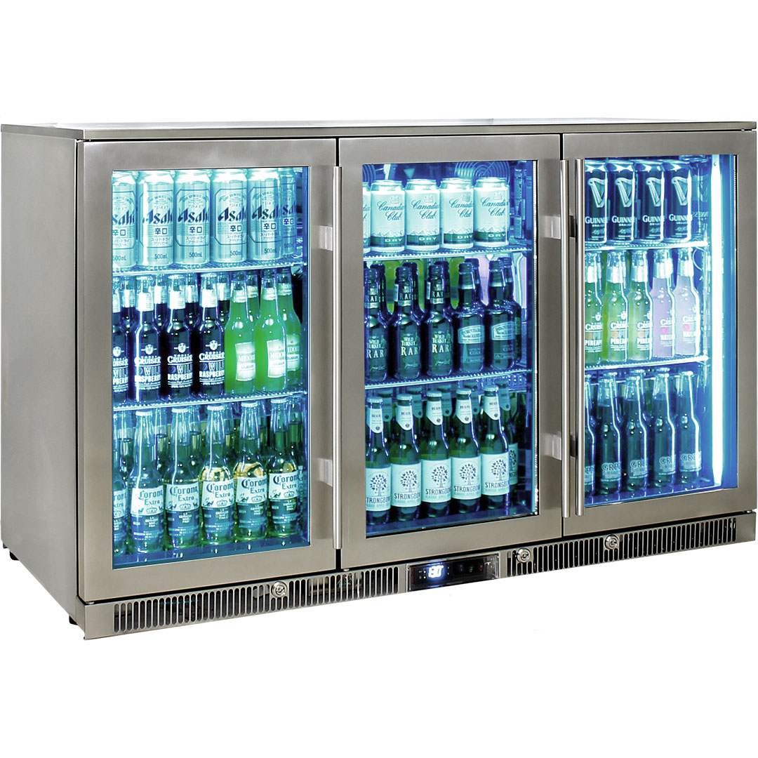 Rhino – ENVY 3 Door Alfresco Bar Fridge ENV3H-SS 10