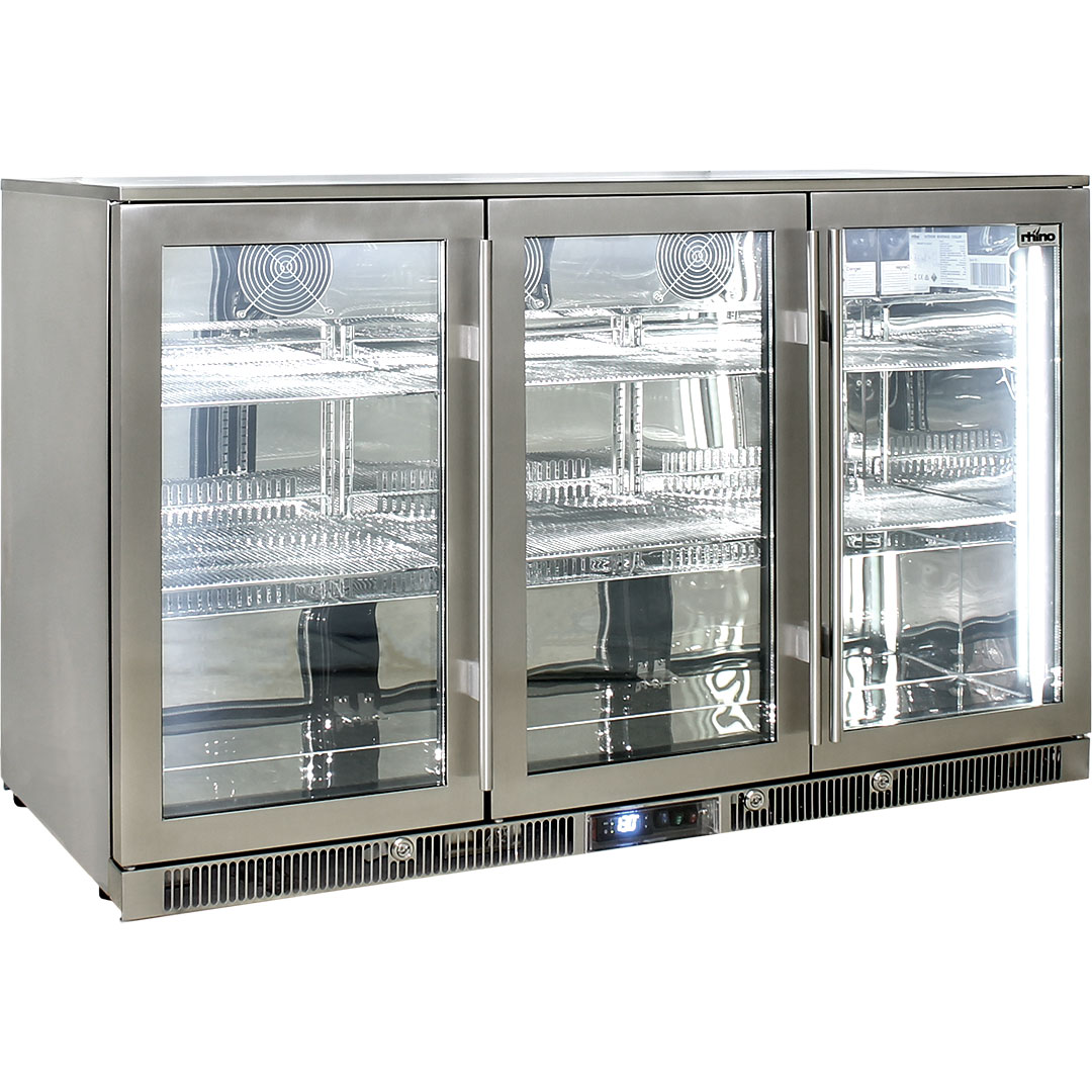Rhino – ENVY 3 Door Alfresco Bar Fridge ENV3H-SS 11