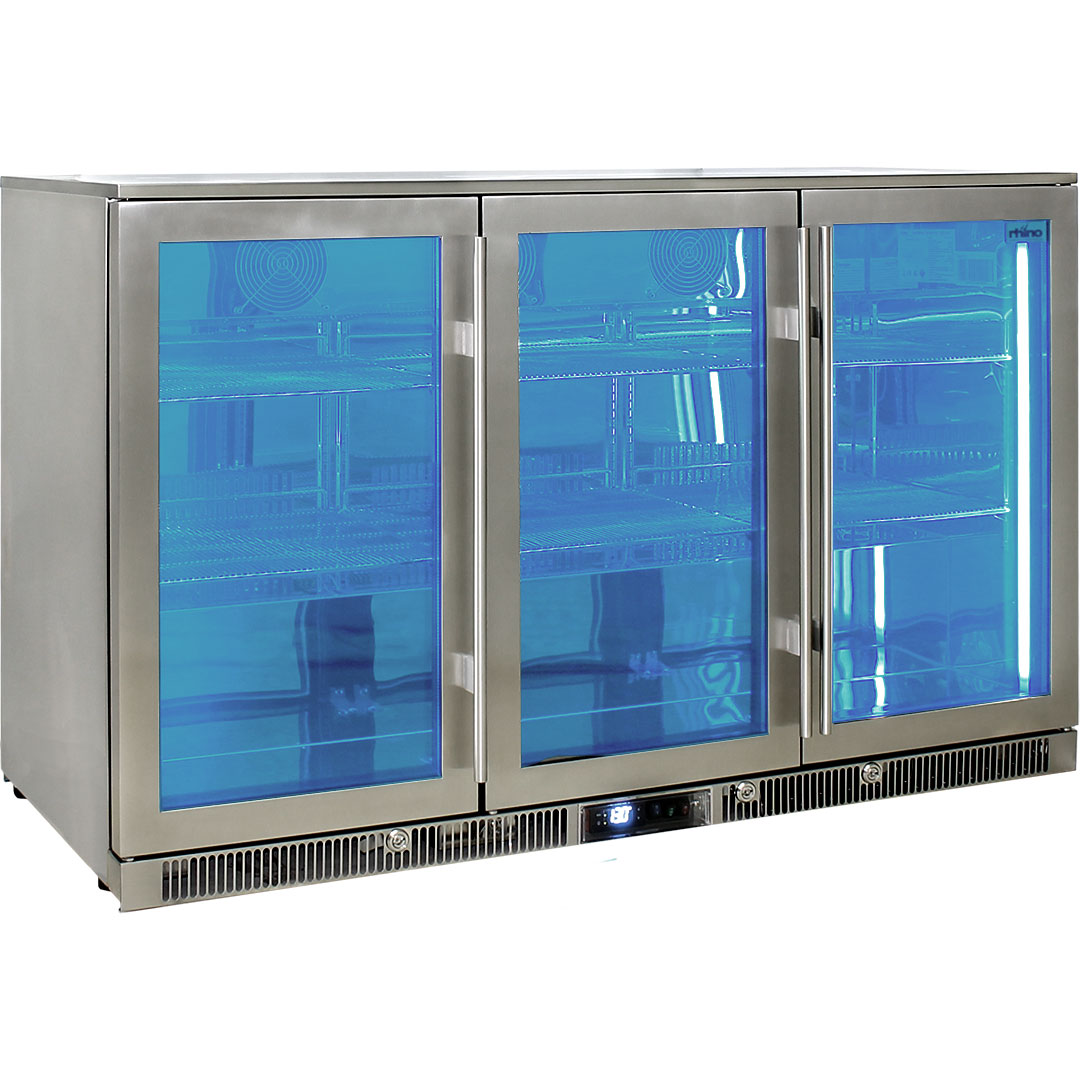 Rhino – ENVY 3 Door Alfresco Bar Fridge ENV3H-SS 7