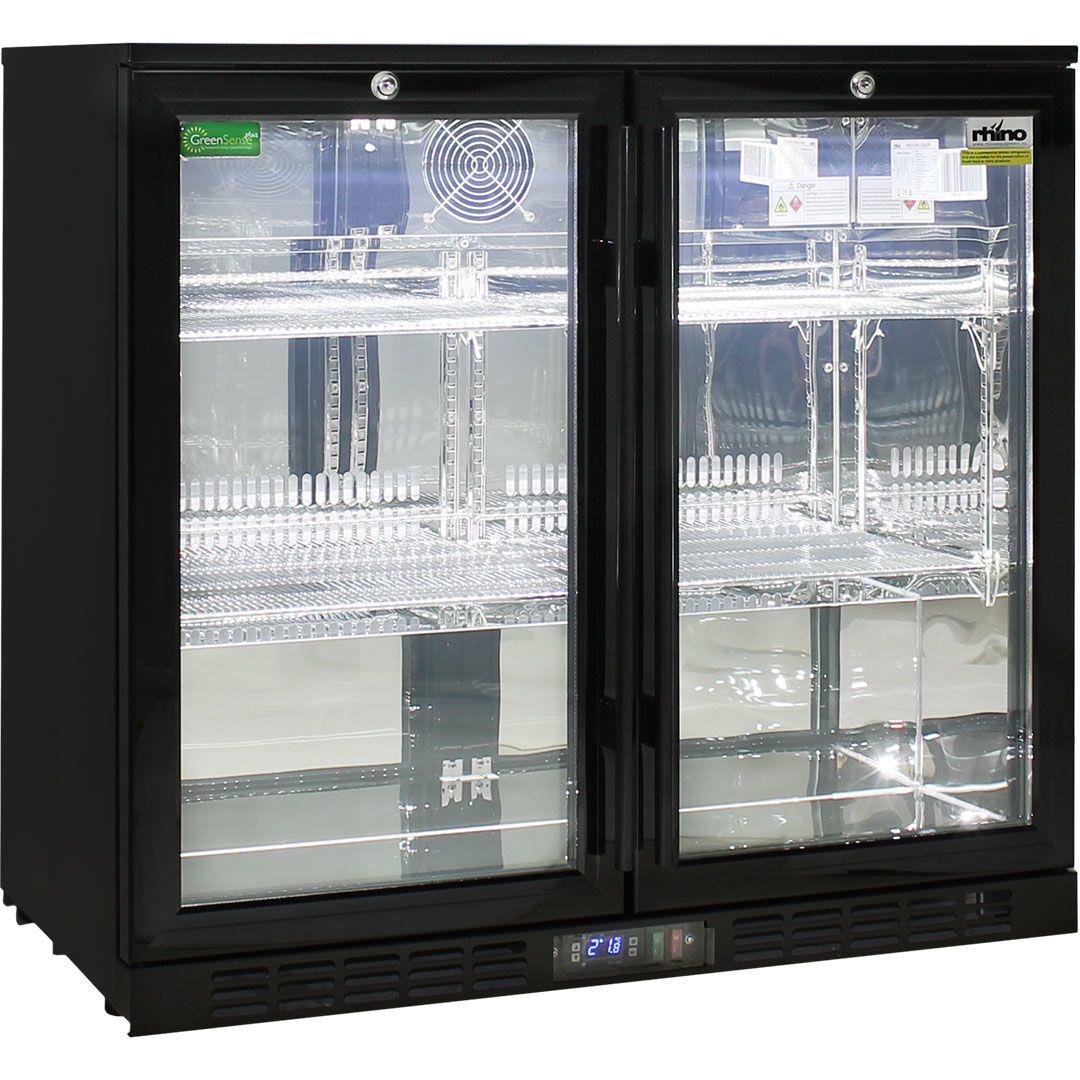 Rhino-Under-Bench-Black-2-Door-Commercial-Alfresco-Bar-Fridge__1_