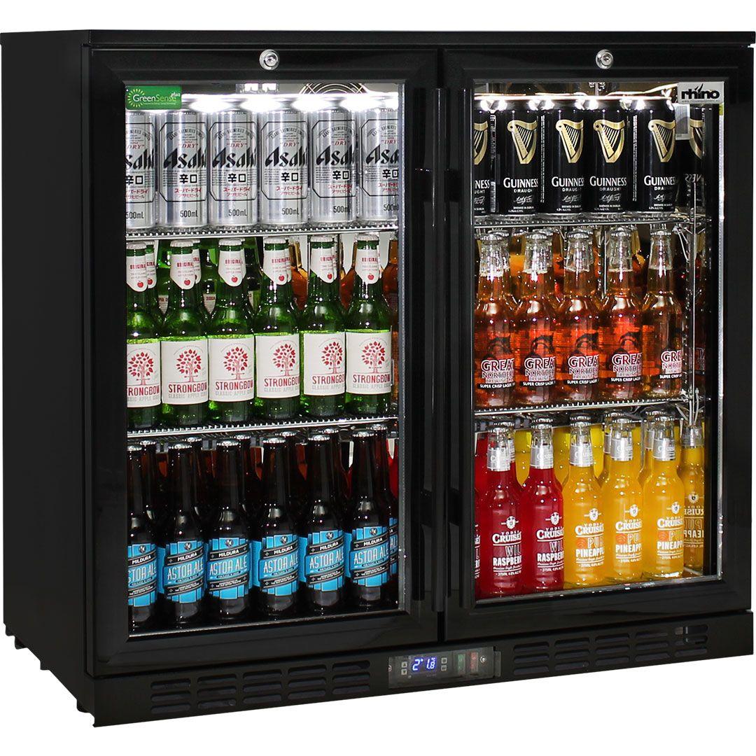 Rhino-Under-Bench-Black-2-Door-Commercial-Alfresco-Bar-Fridge__2_