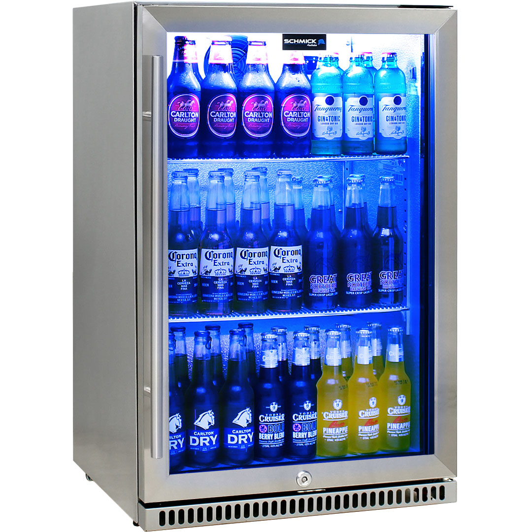 Schmick Stainless Outdoor Bar Drinks Fridge Model SK118R-SS