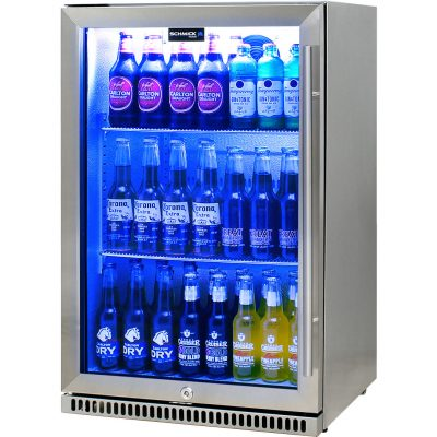 Schmick Stainless Outdoor Bar Drinks Fridge Model SK118L-SS