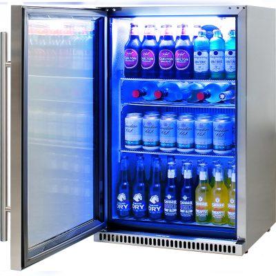 Schmick Stainless Outdoor Bar Drinks Fridge Model SK118L-SS