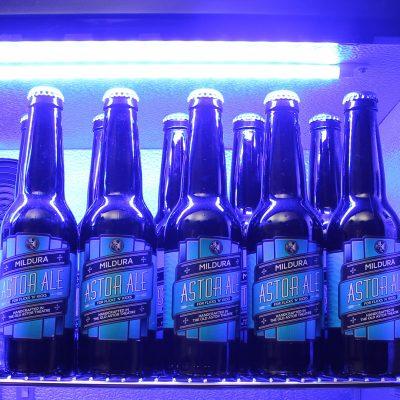 Schmick Black Bar Fridge 2 Door SK190-B