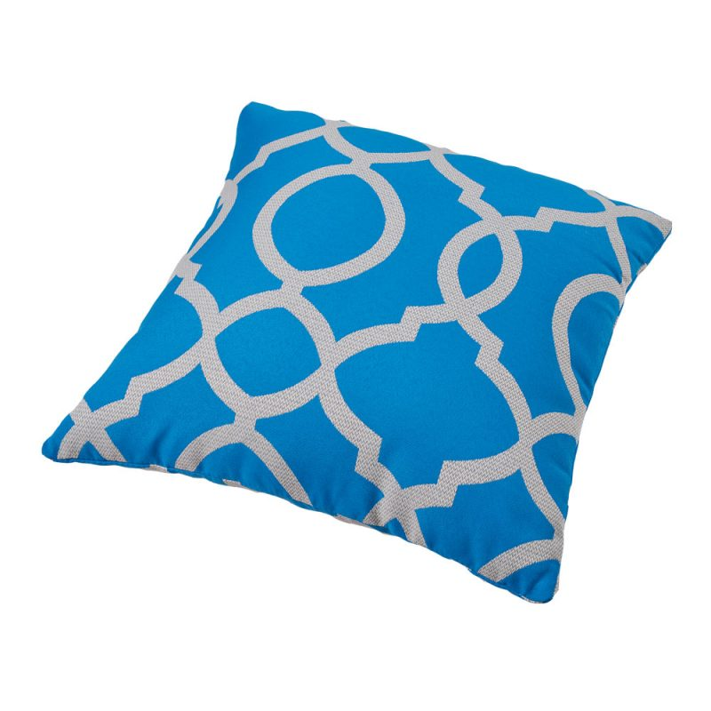 Parker Boyd – Torquay Blue Outdoor Cushions – 50x50cm