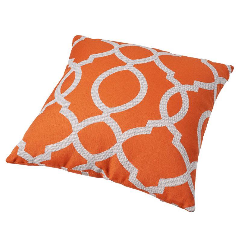 Parker Boyd – Torque Orange Outdoor Cushion