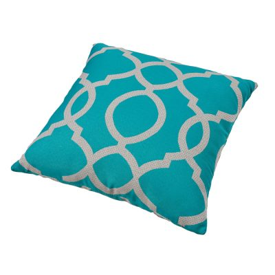 Parker Boyd – Torquay Teal Outdoor Cushion – 50x50cm