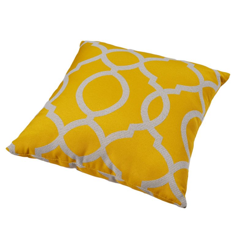 Parker Boyd – Torquay Yellow Outdoor Cushion