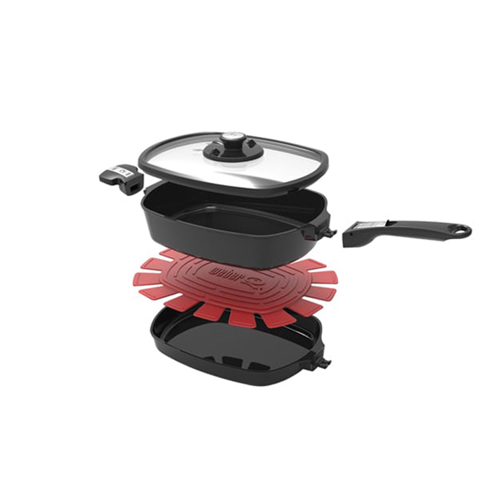 Weber® Q™ Ware Small Casserole/Frying Pan Pack