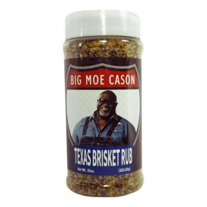 Big Moe Cason Texas Brisket Rub Jar