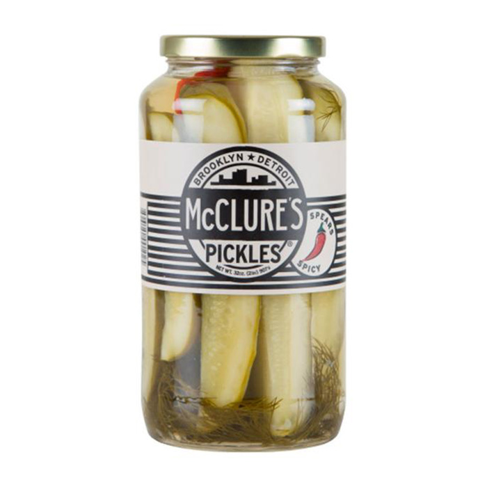 McClure's Spicy Pickle Spears 907g