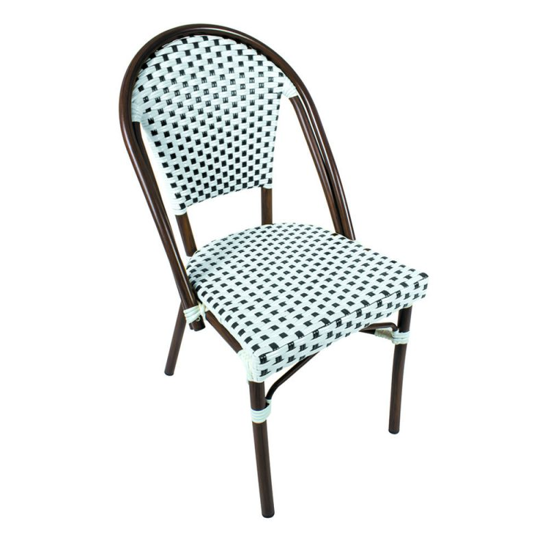 Shelta - Milan Wicker Plastic Chair