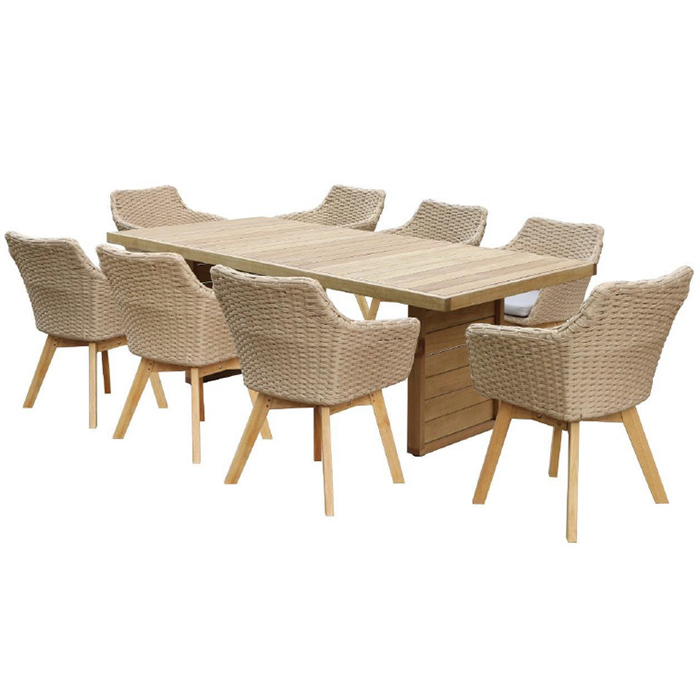 Perry 9 Piece Lounge Setting