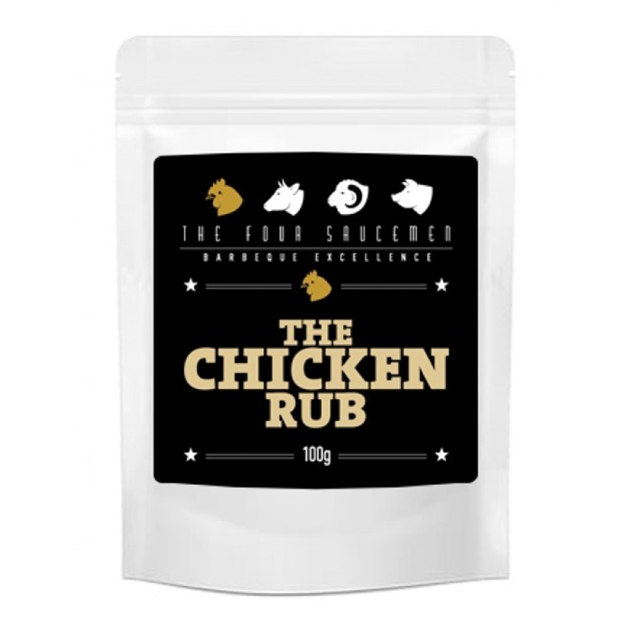 The Four Saucemen Chicken Rub Zip Lock Bag 100g