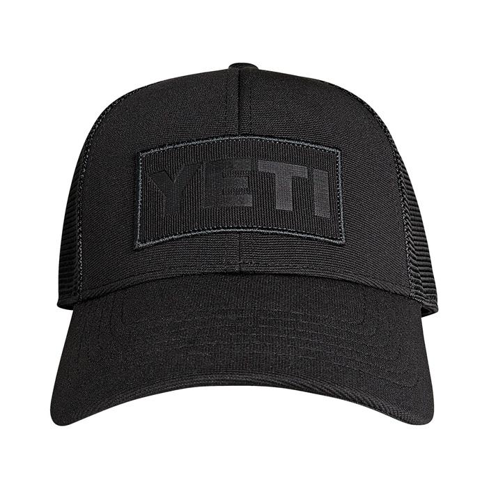 yeti-patch-trucker-hat-black-front