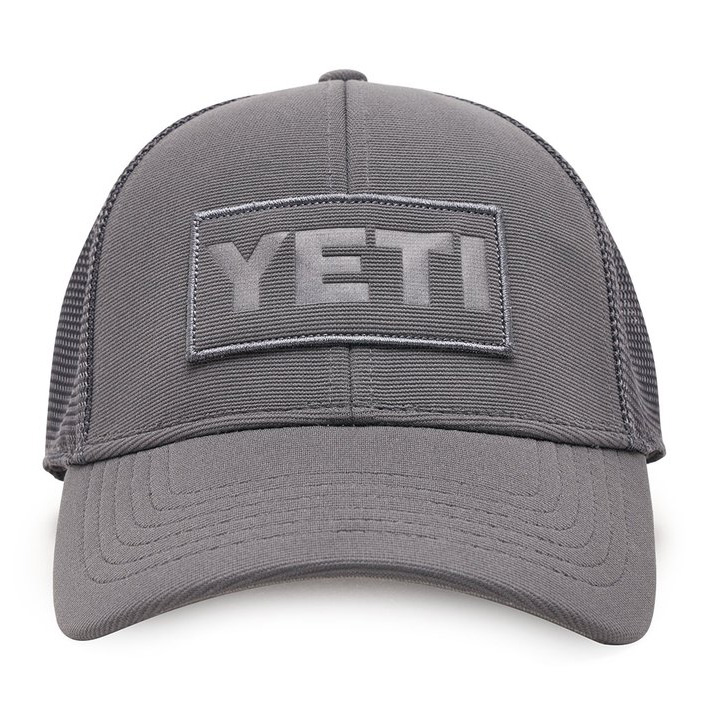 yeti-patch-trucker-hat-gray-front