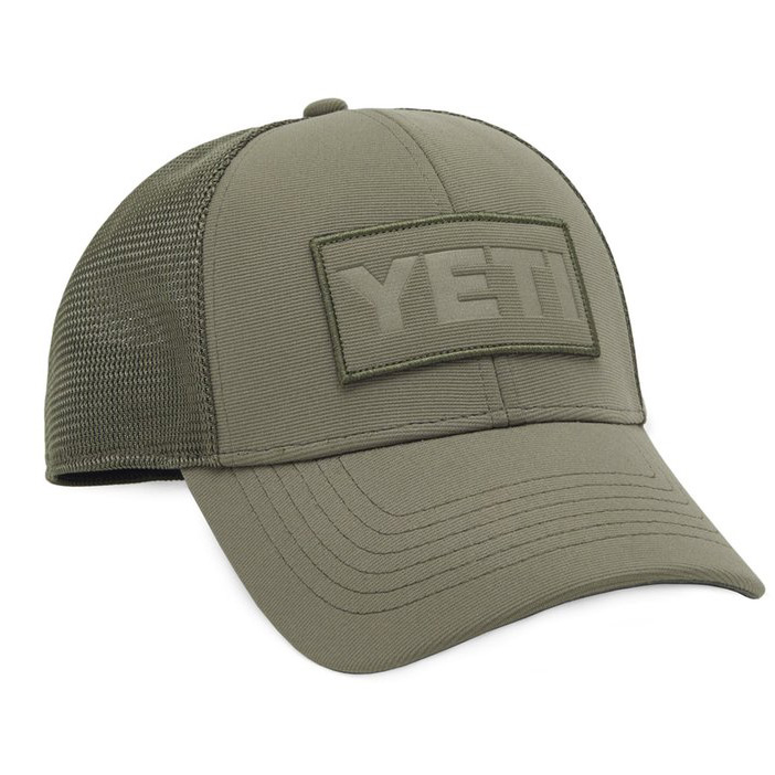 yeti-patch-trucker-hat-olive-angle